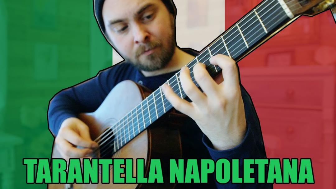 欣赏|Lucas意大利著名民谣Tarantella Napoletana Lucas展示从1~10如何进阶改编