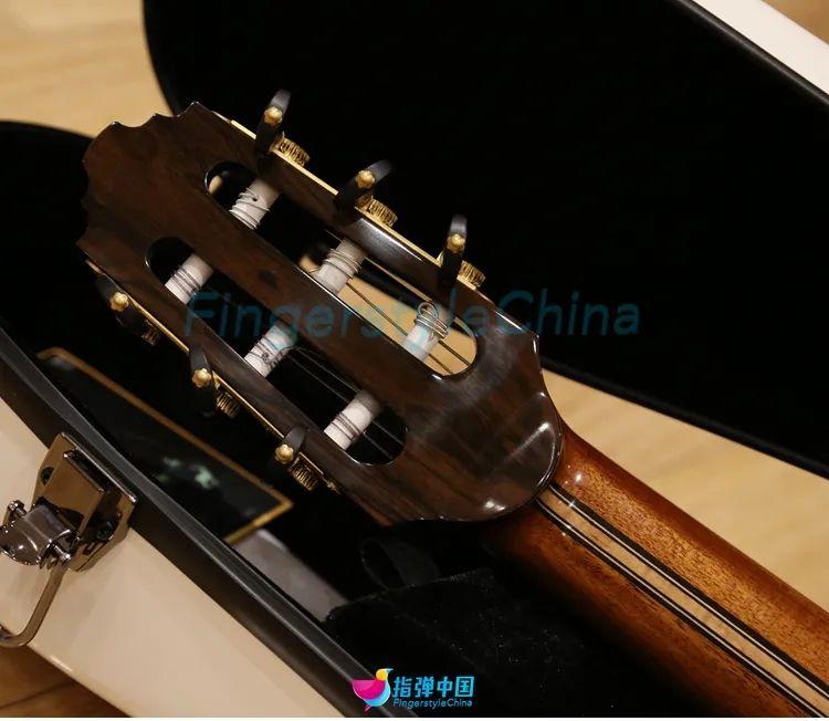 壹琴|这把手工跨界尼龙弦电箱吉他香不香?